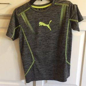 Puma tee shirt. Boys